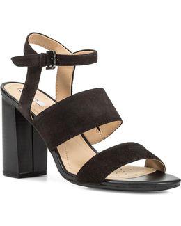 Audalies Waterproof Suede Sandals