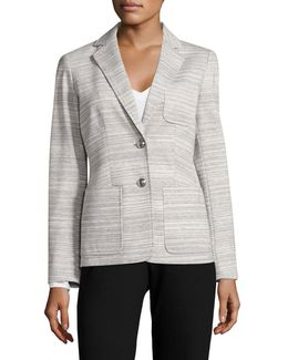 Two-button Marled Blazer