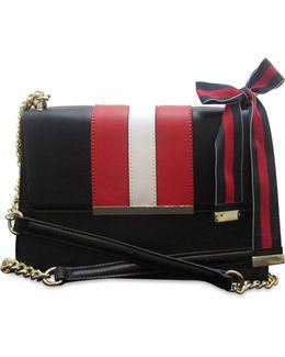 Baldree Striped Shoulder Bag