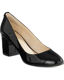 Patent Block-heel Pumps