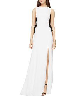 Daulphine Bow-tie Gown