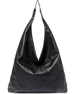 Bkaci Perforated Hobo Bag