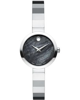 Analog Novella Stainless Steel Bracelet Watch