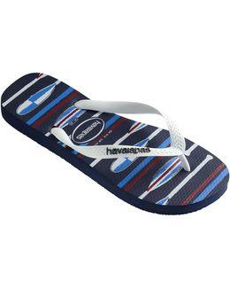Top Nautical Flip-flops