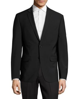 X-fit Slim Wool-blend Suit Jacket