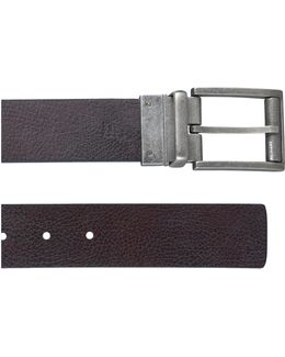 Reversible Flat Strap Belt