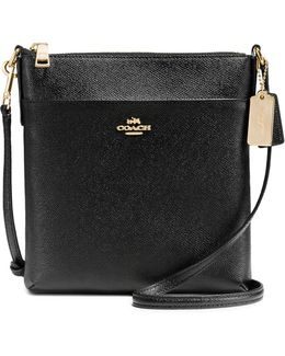Courier Leather Crossbody Bag