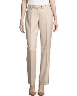 Birdseye Modern-fit Pants