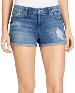 Forever Rolled Denim Shorts