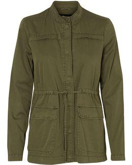 Naomi Short Cargo Jacket