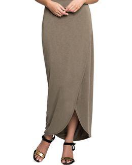 Petite Boardwalk Wrap Skirt