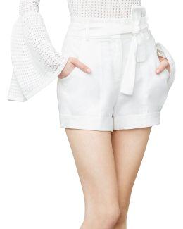 Renee Paper Bag Shorts