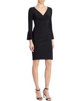 Jersey Surplice Dress