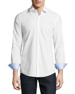 Ero3 Extra Slim Fit Printed Sport Shirt