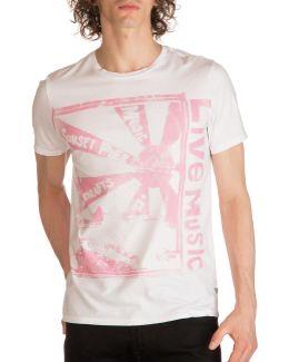 Live Music Graphic Print T-shirt