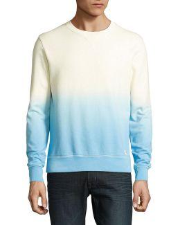 Lucas Ombre Crew Neck Sweatshirt