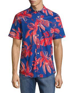 Pasadena Printed Short-sleeved Shirt