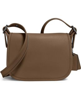 Glovetanned Leather Saddle Bag