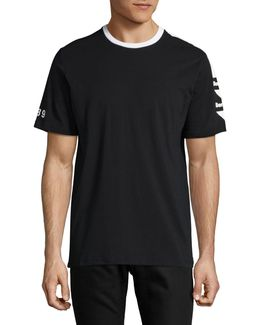 Graphic Sleeve T-shirt