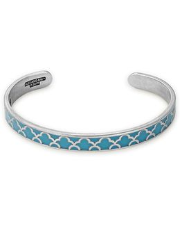 Island Teal Color Infusion Cuff Bracelet