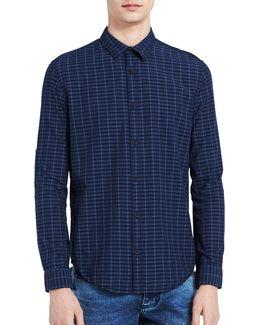 Slim-fit Checked Shirt