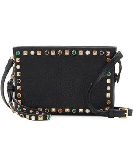 Tysa Studded Leather Crossbody