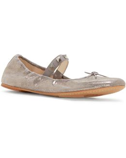 Prilla Leather Ballet Flats