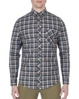 Future Mod Gingham Print Shirt