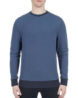 Future Mod Tipped Honey Pique Sweatshirt