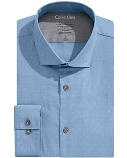 Diamond X-fit Slim Dress Shirt