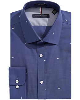 Sunglasses Slim-fit Non-iron Dress Shirt