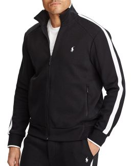 Big And Tall Double-knit Track Jacket