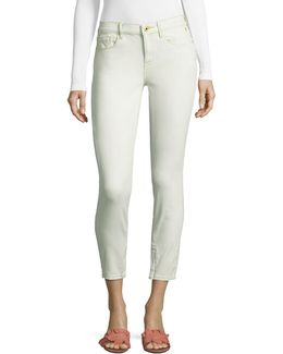 Zip-hem Jeans