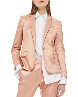 Metallic Suit Jacket