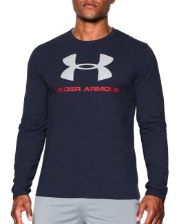 Sportstyle Cotton Long Sleeve T-shirt