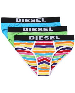 Three-pack Logo Briefs