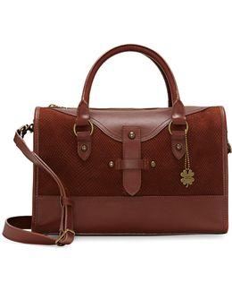 Liza Leather Satchel