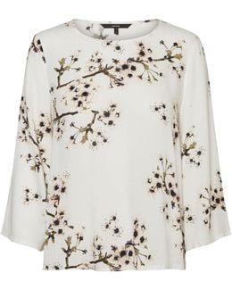 Occasion Floral-print Top