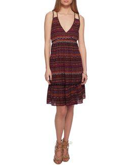 Kisha Sleeveless Midi Dress