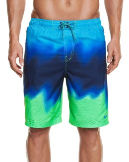 Liquid Haze Splice Volley Swim Shorts