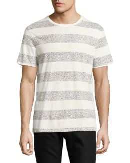 Printed Stripe T-shirt