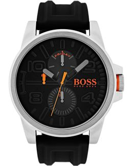 Multifunction Detroit Silicone Strap Watch