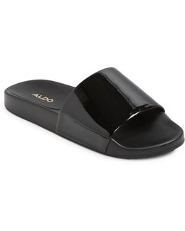 Womens Maurizia Flat Slide Sandals