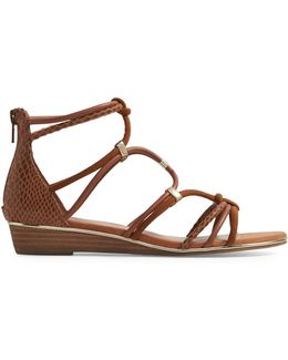 Muriele Wedge Gladiator Sandals