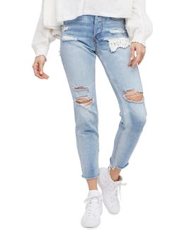 Lacey Distressed Jeans