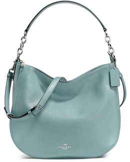 Chelsea Pebbled Leather Hobo Bag