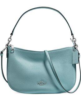 Chelsea Pebbled Leather Crossbody Bag