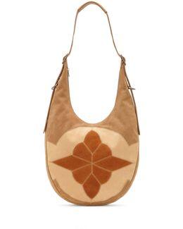 Sedona Nubuck Leather Hobo Bag