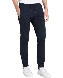 Solid Slim Fit Joggers