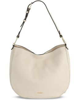 Erica Pebbled Leather Hobo Bag